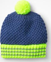 Textured Hat Blue Boys