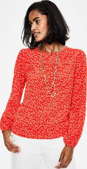 Veronica Blouse Red Women
