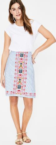 Victoria Embroidered Skirt