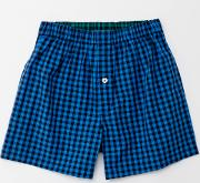 Woven Boxers Navy/blueberry Gingham Men