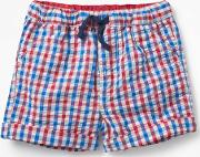 Woven Explorer Shorts Red