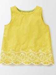 Sandra Top Pineapple/ Ivory Girls Boden