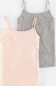 2 Pack Cami Pale Pink Girls Boden