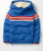 Knitted Hoodie  Boys Boden