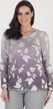 Gerry Weber Ombre Leaf Jumper