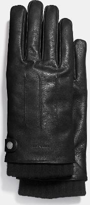 3 In 1 Glove In Leather