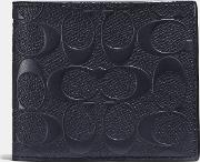 3 In 1 Wallet In Signature Leather