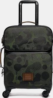 Academy Travel Wheeled Carry On With Wild Beast Print