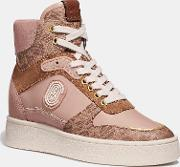C220 High Top Sneaker With Patch
