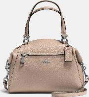 Coach Prairie Satchel In Polished Pebble Leather