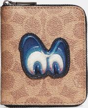 Disney X Small Zip Around Wallet In Signature With Patch