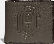 Double Billfold Wallet With Patch