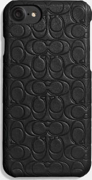 Embossed Signature Iphone Case