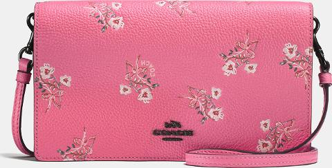 7104c8f320d2c promo code coach foldover crossbody clutch with floral bow print obsessory  8d96d 68804