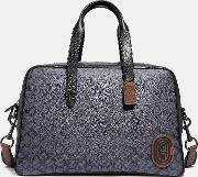 Metropolitan Soft Carryall In Signature Canvas With Patch