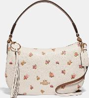 Sutton Crossbody With Floral Print