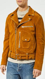 Men's Ladd Suede Biker Jacket