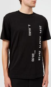 Men's Credit Card Decal T Shirt