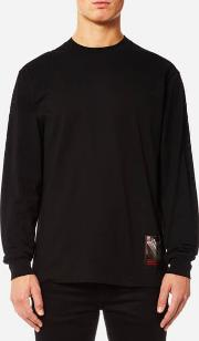 Men's Slow And Steady Patch Long Sleeved T Shirt