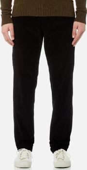. men's high chinos faux noir w34 black