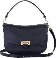Women's Letterbox Slouchy Saddle Bag Navy