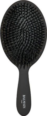 Balmain Luxury Spa Brush With 100 Boar Hair Bristles For Ultimate Shine