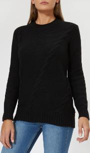 Women's Kate Placement Cable Jumper