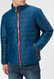 Men's Sport Locking Quilt Jacket Petrol