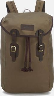Men's Wax Leather Backpack Stone
