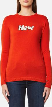 Women's Now Jumper Red M Red