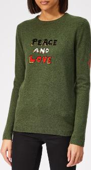 Women's Peace And Love Cashmere Jumper