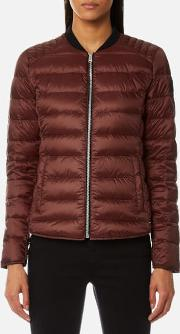 Women's Hamford Quilted Short Jacket Cardamon Red Eu 40uk 8 Red