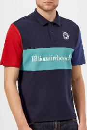 Men's Cut And Sew Polo Shirt