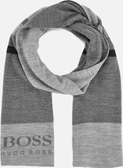 men's knitted scarf multi