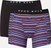 Men's 2 Pack Print Boxer Briefs Open