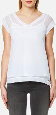 Women's Tameshy Top White M White