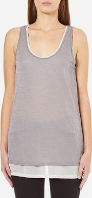 Women's Terparty Top Medium Grey Xs Grey