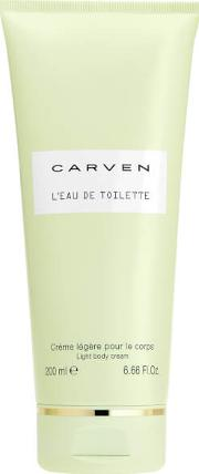 L'eau De Toilette Body Cream 200ml