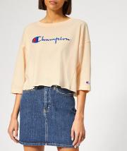 Women's Cropped 34 Sleeve Top