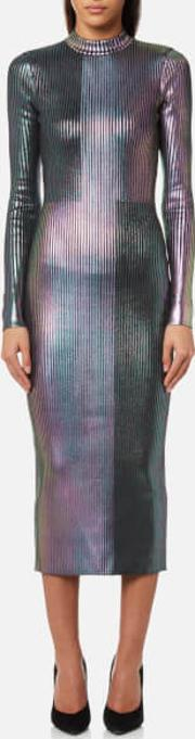 Women's Long Foil Dress
