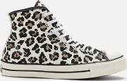 Archive Print Lucky Star Hi-top Trainers