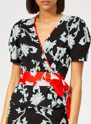 Women's Alexia Flower Top
