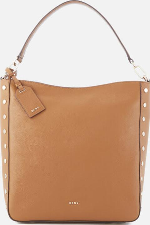 1f39559693a2 Women s Chelsea Pebbled Leather Top Zip Hobo Bag Camel. Follow dkny Follow  coggles