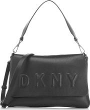 Women's Flap Shoulder Bag Black