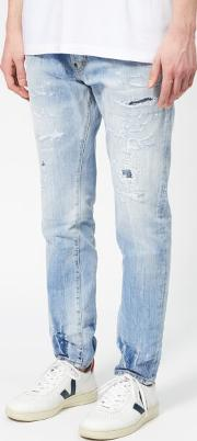 Men's Cigarette Jeans