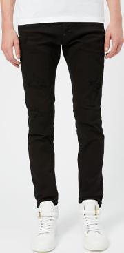 Men's Cool Guy Black Bull Jeans