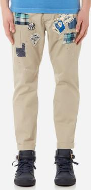 Men's Hockney Fit Chinos With Patches