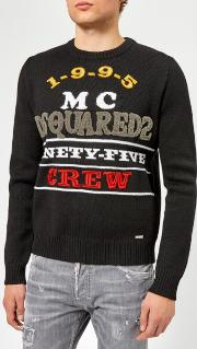 Men's Logo Knitted Jumper