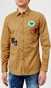 Men's Stretch Cotton Twill Relaxed Fit Shirt