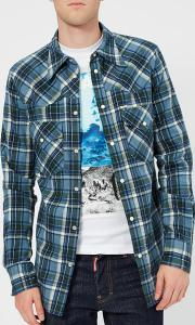 Men's Western Fit Check Shirt